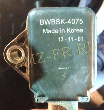 катушка зажигания змз 405, корея