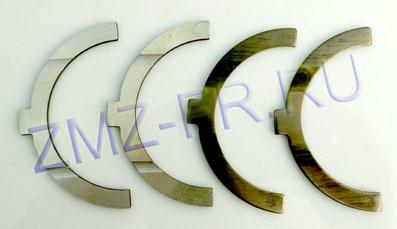 полукольца коленвал змз 406, металлический вариант