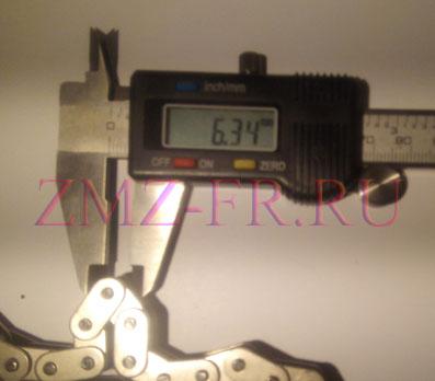 диаметр ролика цепи евро-3
